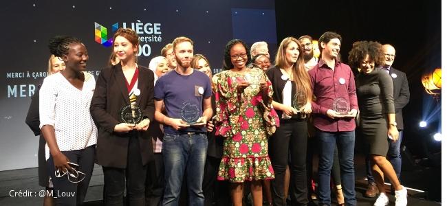 Marielle Agbahoungbata remporte la finale internationale du Concours MT180