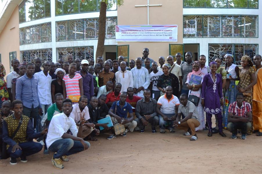 Photo de fin à Garoua