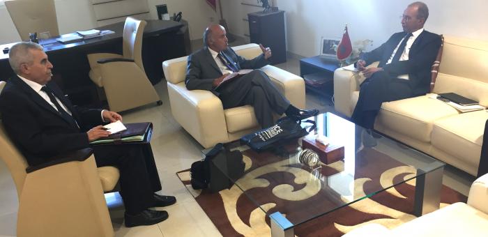 Le Recteur et le Ministre de l'Education Nationale(Maroc)