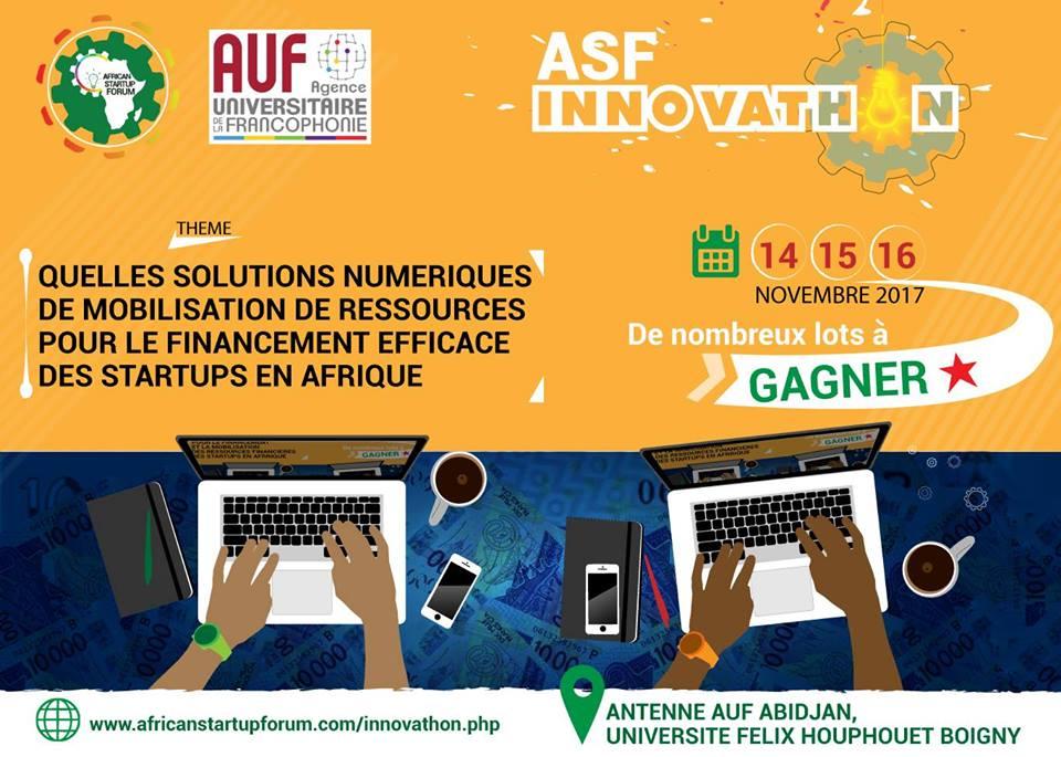 forum des starups africaines innovathon 2017
