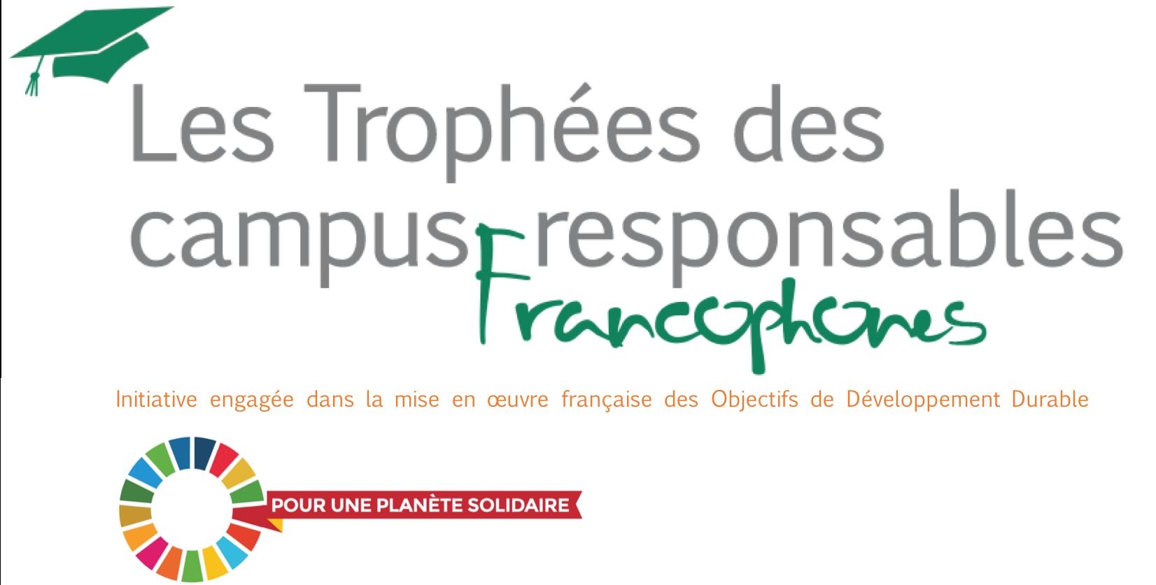 Logo Trophées Agenda 2030