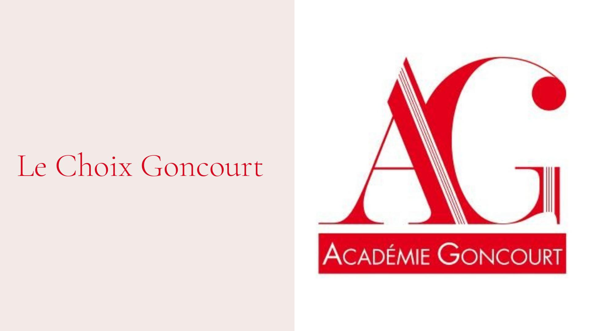 Le Choix Goncourt