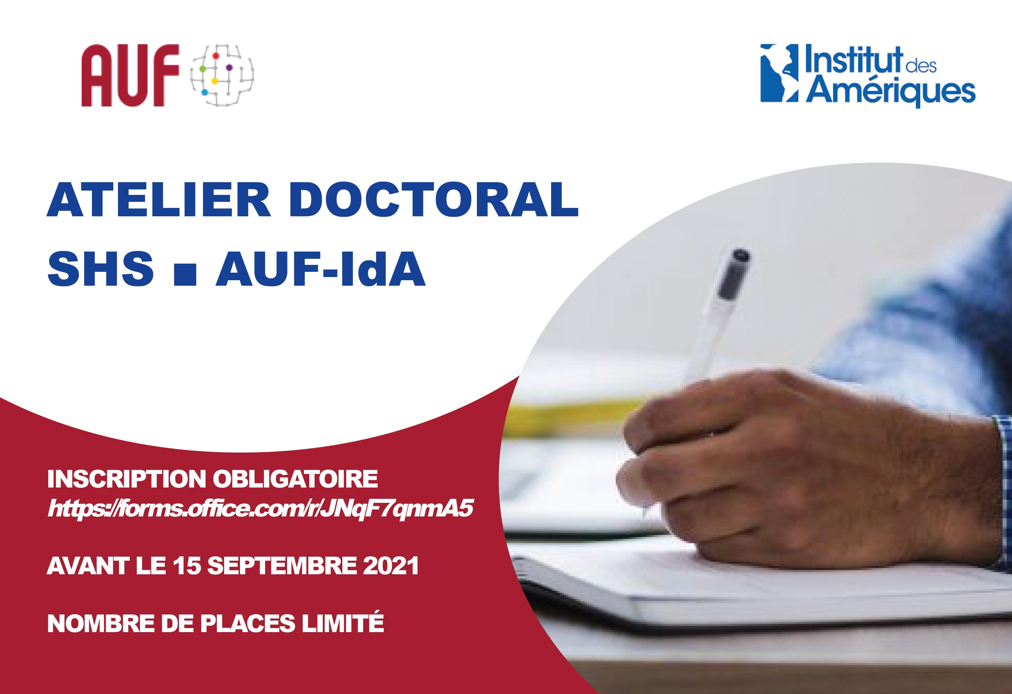 Affiche formulaire atelier doctoral