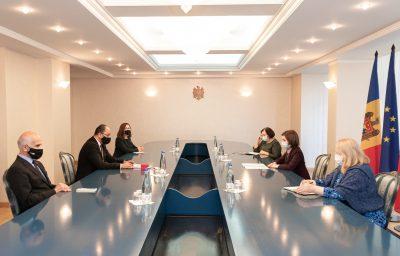 Rencontre avec la Présidente de la République de Moldova